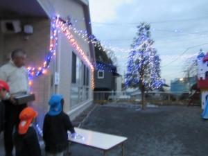 制作展覧会とクリスマス
