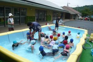 プール遊び(体操教室)