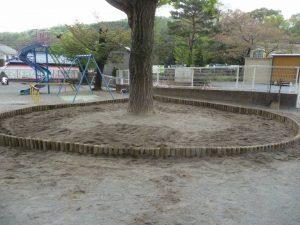 砂場リニューアル