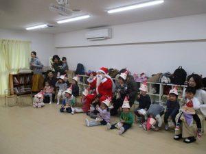 後期ひよこクラブ第8回目『クリスマス会』の様子②