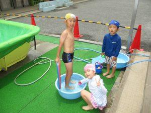 水遊び&どろんこ遊び!!