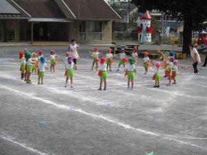 踊りが大好きな子どもたち