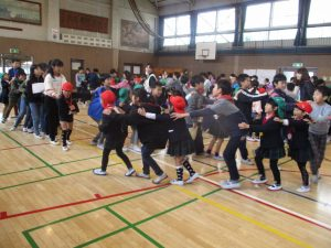 相原小学校へ行きました