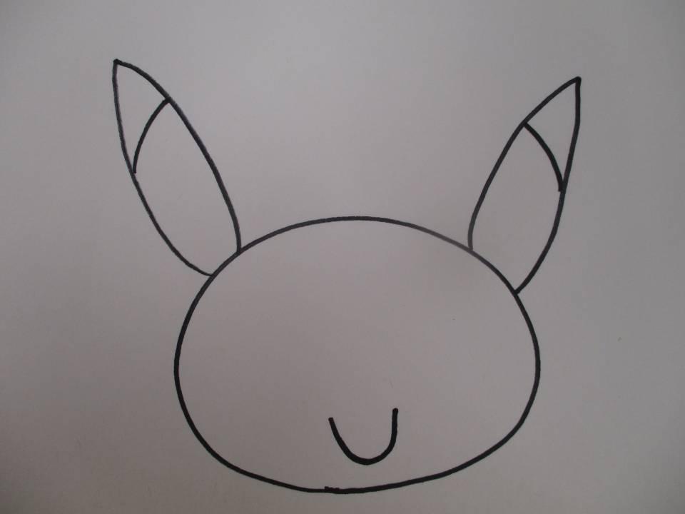 絵描きうた『ピカチュウ』