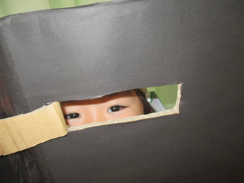 研究活動「箱の中は、だーれだ?」