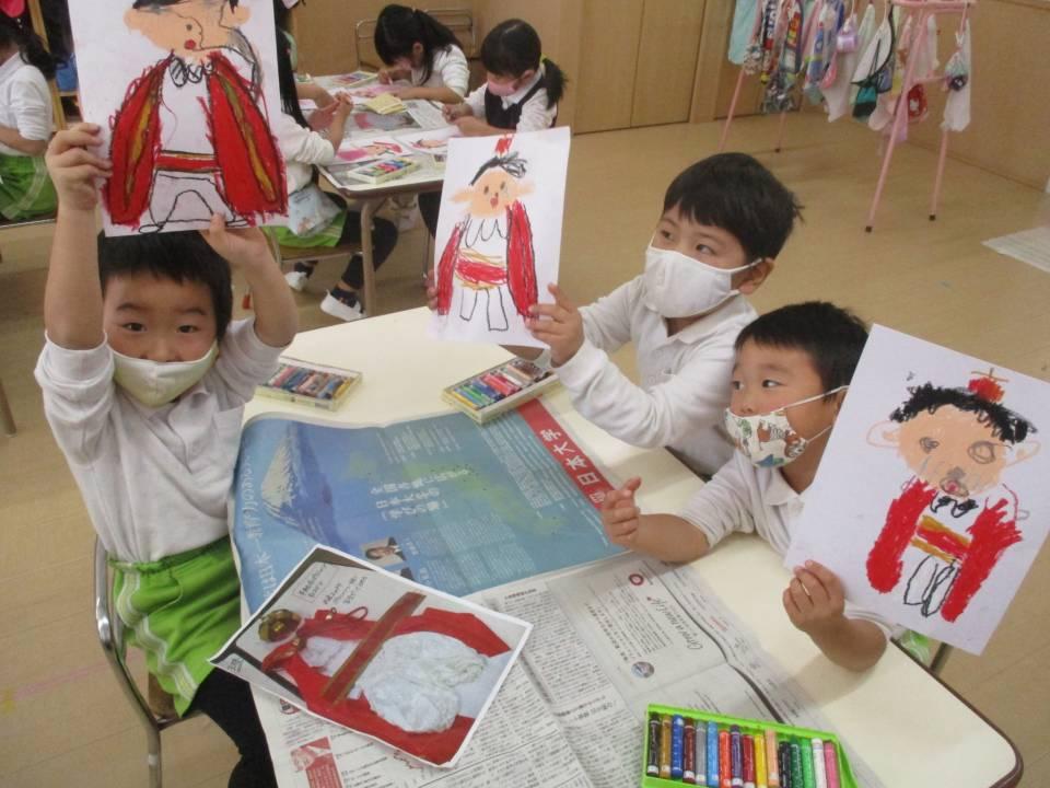 発表会の絵 | あいはら幼稚園-町田市相原町にある幼稚園。八王子や相模原からも登園可能