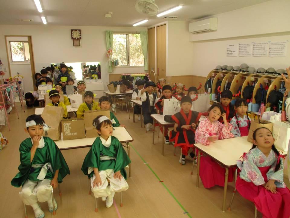 幼稚園最後の発表会
