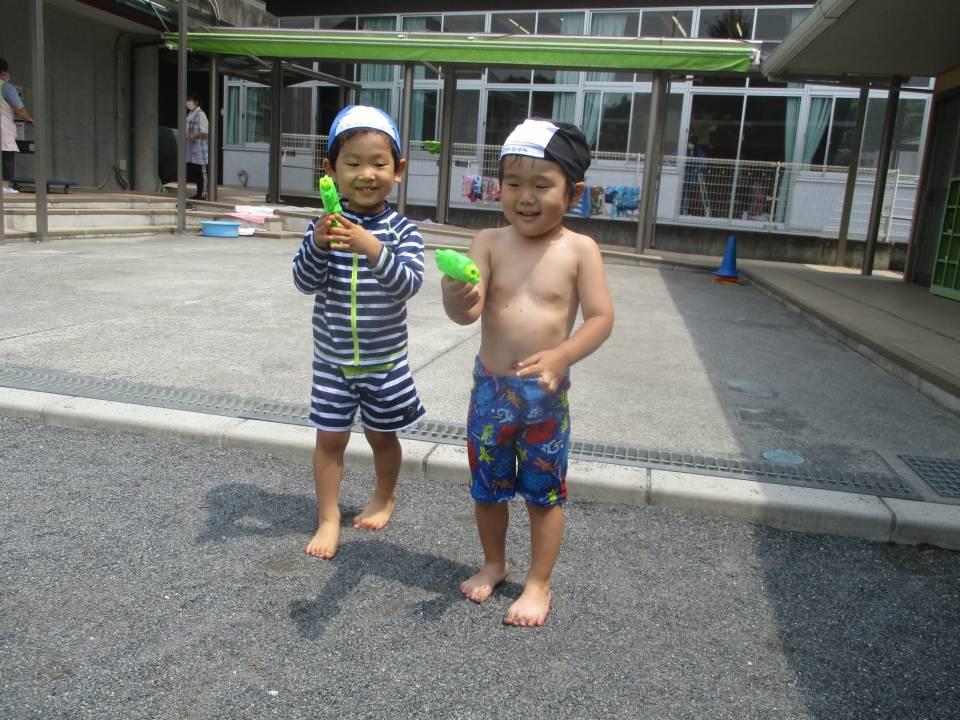水遊びの楽しさ②