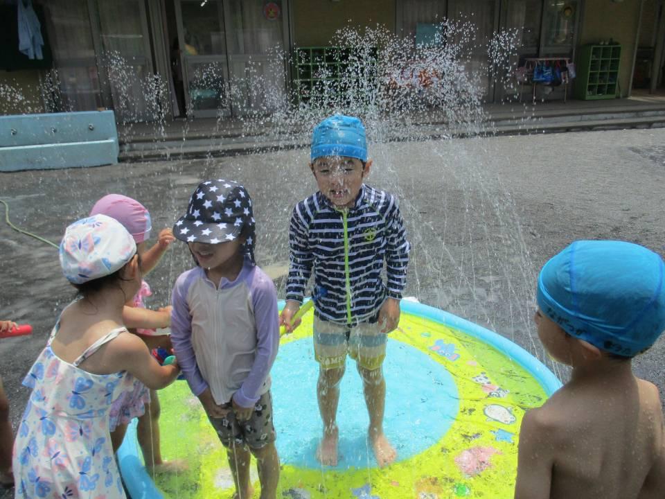 楽しい!水遊び!!